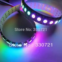 Fast Shipping 1m 144 Pixels/M WS2812B Chip White PCB WS2811 IC Digital RGB LED Strip Light DC5V