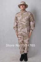 Three colors desert camo - Camouflage suit sets Army Military uniform combat Airsoft uniform -Only jacket & pants