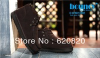 Wholesale Boots Men anti-skidding keep Warm Moots man Short Boots Shoes for men Winter fit new design 4 colors 2013 hotsale