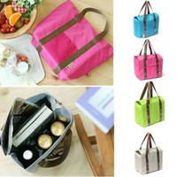 Portable Travel camping Kit 9 L Thermal Insulated Waterproof Tote Shoulder Picnic Cooler Lunch Storage Bag Box