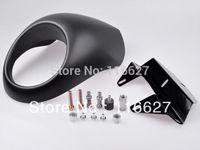 New Cafe Fairing headlight mask front Fly Screen Racer Cowl Flyscreen Visor For Harley drag dyna Sportster V-Rod FX XL 883