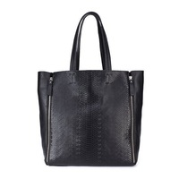 2013 women's handbags girls fashion Shoulder bags Modern Queen series Genuine leather  black Tote bag fashionable Queen
