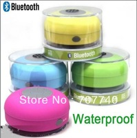 Dropshipping  Waterproof bluetooth Speaker ,Wireless shower Car Handsfree Speaker for Iphone 4s 5 for ipad for samsung