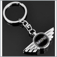 1 x  Car 3D Key Chain  Key Chain Logo Badge Emblem For Auto New With Gift Box for Car Free shiping  By Post Air Mail