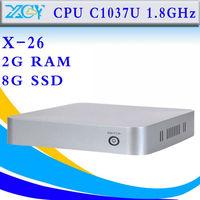 Factory price y-26 2GB RAM 8GB SSD fan mini computer mini pc support 3G and WiFi mini pcs thin client