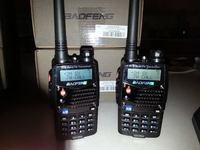 Free Shipping!2 pcs/ lot New Version Baofeng UV-5RA Dual-Band 136-174/400-480 MHz FM Ham Two-way Radio