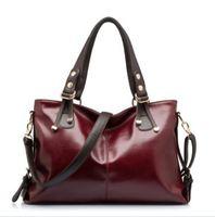 New 2014 Fashion Designer Brand Tassel Bag Shoulder Bag Vintage Handbag black Gift free shipping hot sell bolsas  leather bag