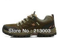 Free shipping!Outdoor men's shoes low help sneakers hiking shoes mountaineering shoes suspension outdoor shoes