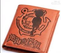 Free shipping     Men's fashion wallet detective conan pattern