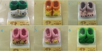 3D baby three-dimensional doll socks baby slip-resistant style cute cartoon sock thin spring