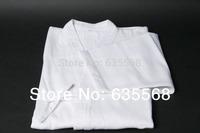 High Quality White Kendo Aikido Iaido Gi Kendogi 100% Cotton Martial Arts Uniform Sportswear Kimono Dobok Free Shipping