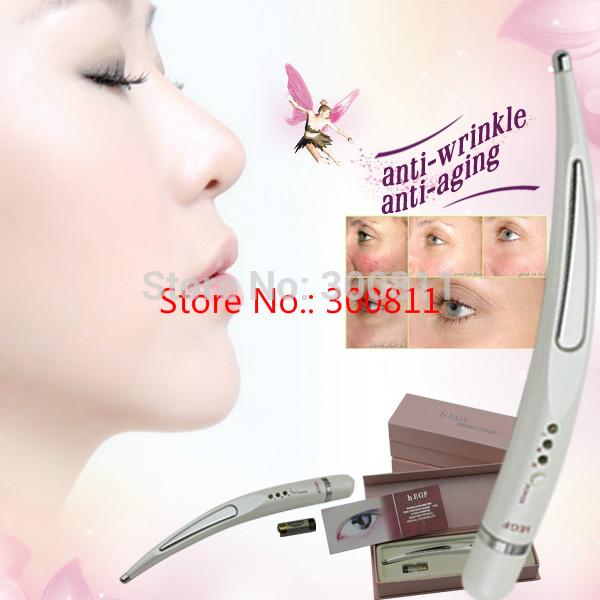 2014 neuen kostenlosen versand schönheit stift anti-falten-, Anti-Aging stift, falten-entferner, augenmassage wrinkle reducer Aktien