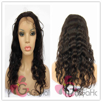 "Glueless Lace Front Wigs Body Wave 10""-24'' 120% Density Queen Hair Indian Virgin  Human Hair Good Price Hot Sale Free Ship"