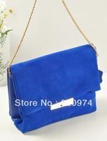 Hot Sale Genuine Leather Bag!!!Free Shipping 2014 Women's Handbag Spring And Winter Nubuck Leather Handbag Messenger Bag