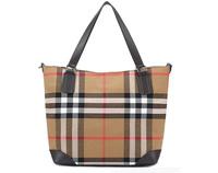 Fashion Plaid Canvas Bag Designer Brand Women Handbags One Shoulder Bags Large Capacity Female Casual Portable Messenger Bags