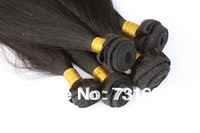 hot sale factory price 100% human hair extensions,3bundles/lot, Brazilian virgin hair, Hair weave, straight hair weft free DHL