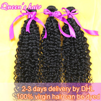 100% unprocessed Brazilian virgin Queen human hair weave products kinky curly Grade 5A remy weft free shipping on sale 3pcs lot