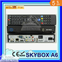 wholesale 3 pcs skybox f6 hd IPTV Supported Full HD Original DVB-S2 Satellite Receiver SKYBOX A6(3pcs A6)