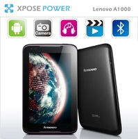 DHL/EMS Freeshipping Lenovo A1000 MT8317  Quad Core 1G/4G ,Bluetooth WCDMA 3G WIFI 7.0'' inch IPS Android 4.1 Tablet PC