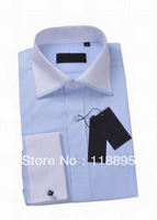 Top Brand Men's Solid Formal T-Shirt Business Suits Designed Shift Best Quality t Shirt Drop Shipping