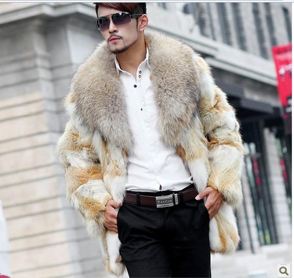 Loup veste de fourrure
