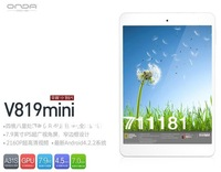 "Free Film+Hot Original Onda V819 3G WCDMA 2G GSM Phone call Quad Core MTK8382 1GB RAM+16GB 7.9"" capacitive android 4.2 tablet pc"