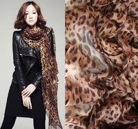 (Min order 15$) Free Shipping-Hot Sale Leopard Scarf Women Warm animal print Leopard Design Favorite Super Star Shawl Scarves