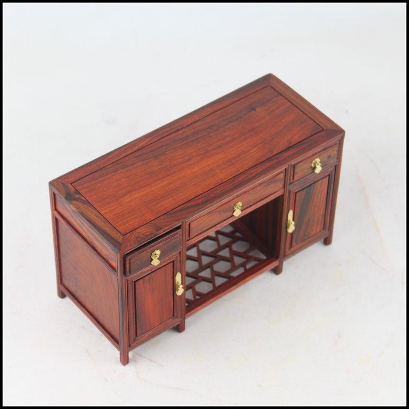 Achetez en gros bureaux en acajou antique en ligne des for Meuble d ordinateur bureau en gros