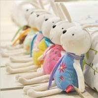 Free shipping supply Korean Mi rabbit rabbit plush doll dolls m 15CM pendant car accessories with suction cups