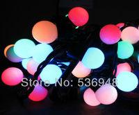 EU Plug 220V LED String Light 100 LED 10M Christmas Light /Decoration String Lights with DC Joint 5 Color Free Shipping
