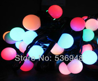 EU Plug 220V LED String Light 100 LED 10M Christmas Light /Decoration String Lights with DC Joint 5 Color Free Shipping