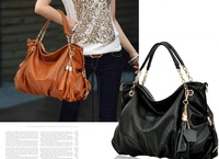 2013 new fashion women leather handbag messenger tassel bag  cross body bags  bolsas supernova sale high quality