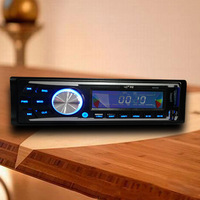 Fast shipping 1 DIN MP3 Player car radio USB SD slot radio with remote control