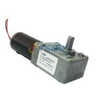 12Vdc / 27rpm DC Worm Geared Motor With Gear Reducer,Motor with Self-locking,Free Shipping