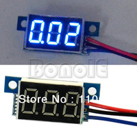 New 1pcs Blue Mini Voltage LED Panel Meter Digital Voltmeter DC 0-30V TK0599