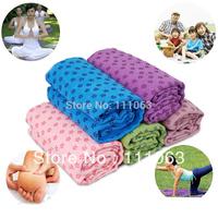Yoga Blankets thickening yoga mat slip-resistant yoga towel fitness blanket free shipping