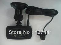 Dual Lens 720P CAR DVR/vehicle traveling data recorder/DVR recorder/After pulling the lens Car DVR