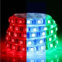 DC24V 5050 SMD LED strip light 60LEDs/ m 5m/Roll IP65 waterproof car and Home Decoration led strips