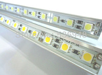 36Leds/50CM SMD 5050 Led Hard Rigid Pixels Strip Alluminium Alloy Coat Lightbar hard led strip led jewelry cabinet led strip
