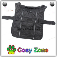 DG008 Black Dog Overalls,Windproof Clothes For Dogs,Free Shipping