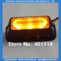 10 PCS Free shipping Liner car led lights+emergency lights TBF-3691LD