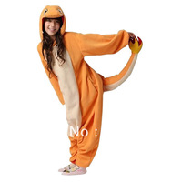 Factory price Kigurumi anime Fire Dragron jumpsuit Pajamas pyjamas costume charmander fire dragon Adult  Onesie Pajama