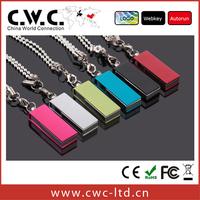 Free shipping wholesale high quality colorful mini usb 2gb 4gb 8gb 16gb cwc-03-006