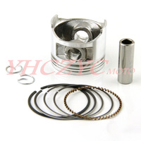 Motorcycle Hign-Chromium-faced aluminium piston rings Fit  XVS250 Dragstar 2000-2008