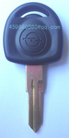 KL10 High quality Opel key shell with HU46 left blade CAR KEY BLANK