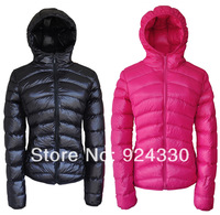 new 2013 winter female women's Down coat casual dress with a hood thin outdoor colthing Good quality