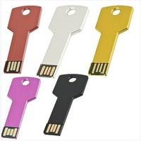 New arrival high sales Waterproof Metal Key USB Memory Stick Flash Pen Drive 4-32GB free shipping