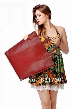 2013 new fashion Women leather Handbag Genuine Leather Tote fashion hangbags Shoulder Shopper Bag, Free shipping