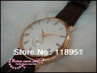 New Hot slim small seconds dial waterproof big belt senior quartz movement Swiss brand of luxury watch business men P71