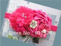 New style baby headbands flower headband 15pcs/lot